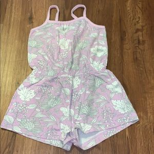 Baby gap floral One piece- like new